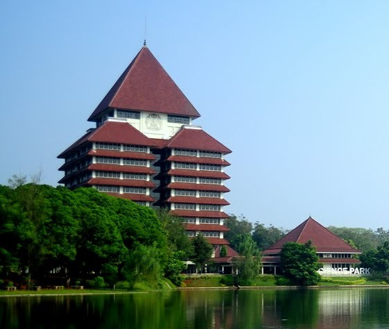 Perpustakaan Best university in Indonesia - Universitas Indonesia