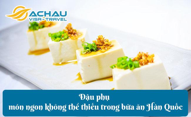 dau phu mon ngon khong the thieu trong bua an han quoc
