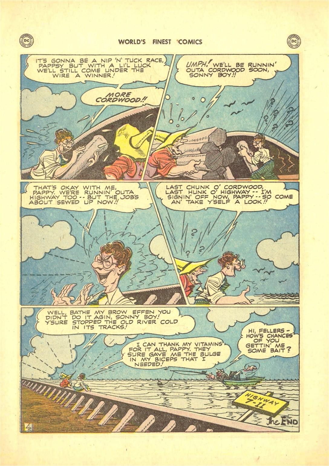 Read online World's Finest Comics comic -  Issue #50 - 54