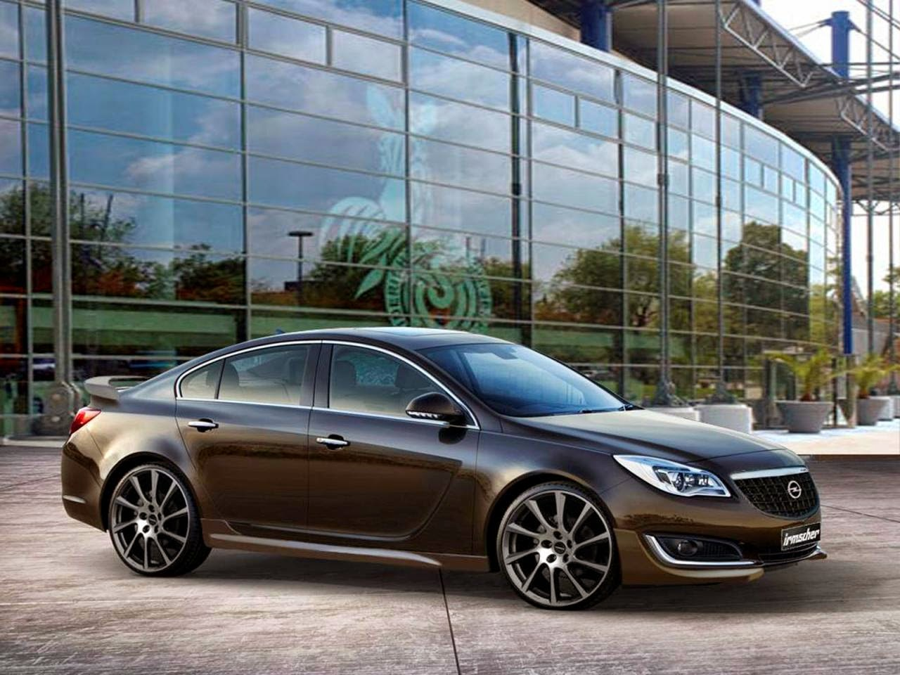opel insignia facelift by irmscher car tuning styling. Black Bedroom Furniture Sets. Home Design Ideas