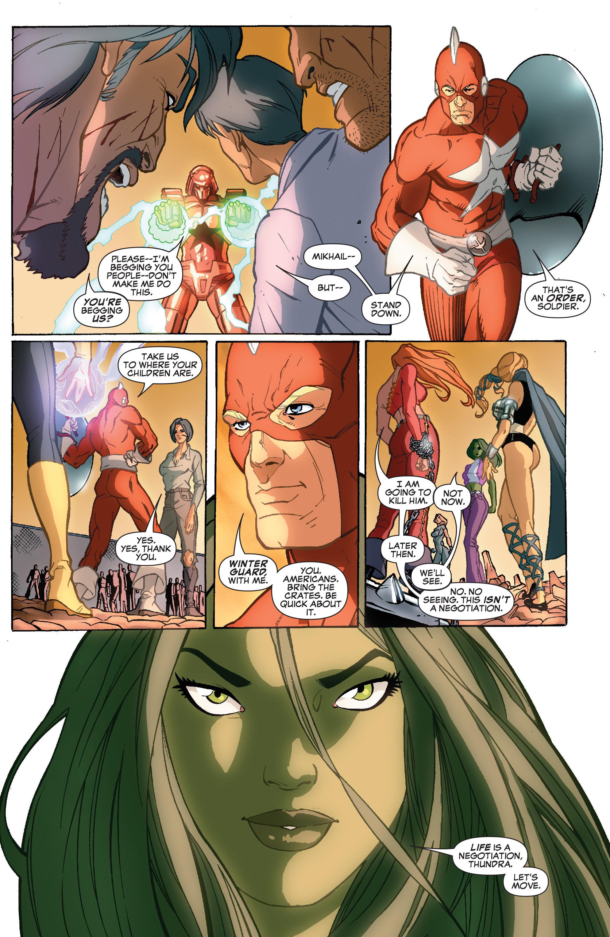 Read online She-Hulk (2005) comic -  Issue #35 - 18