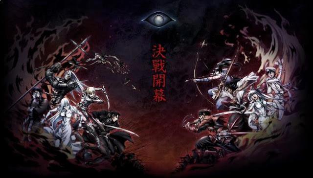 Drifters - Daftar Anime Fantasy Terbaik Sepanjang Masa