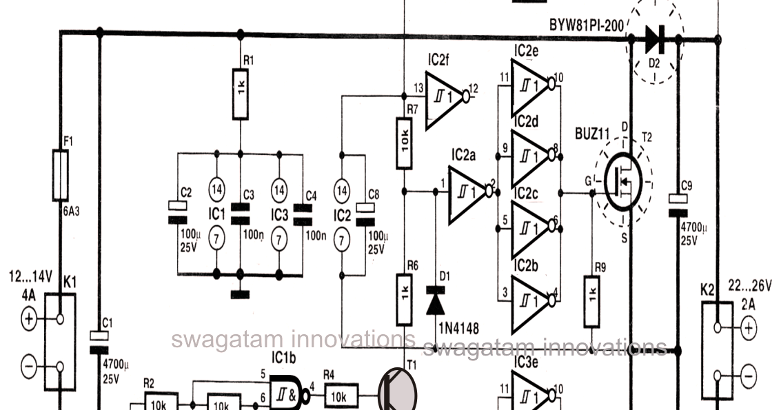 Simple DC to DC High Current Voltage Doubler Circuit - 3 ...
