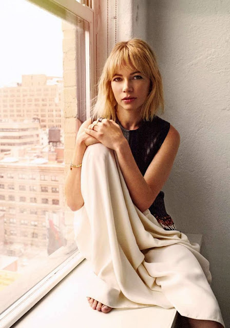 M is for Michelle. Michelle Williams.