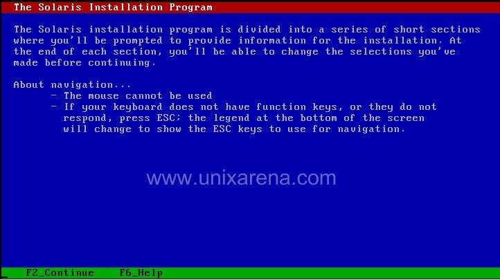 Solaris 10 installation on vmware workstation - UnixArena