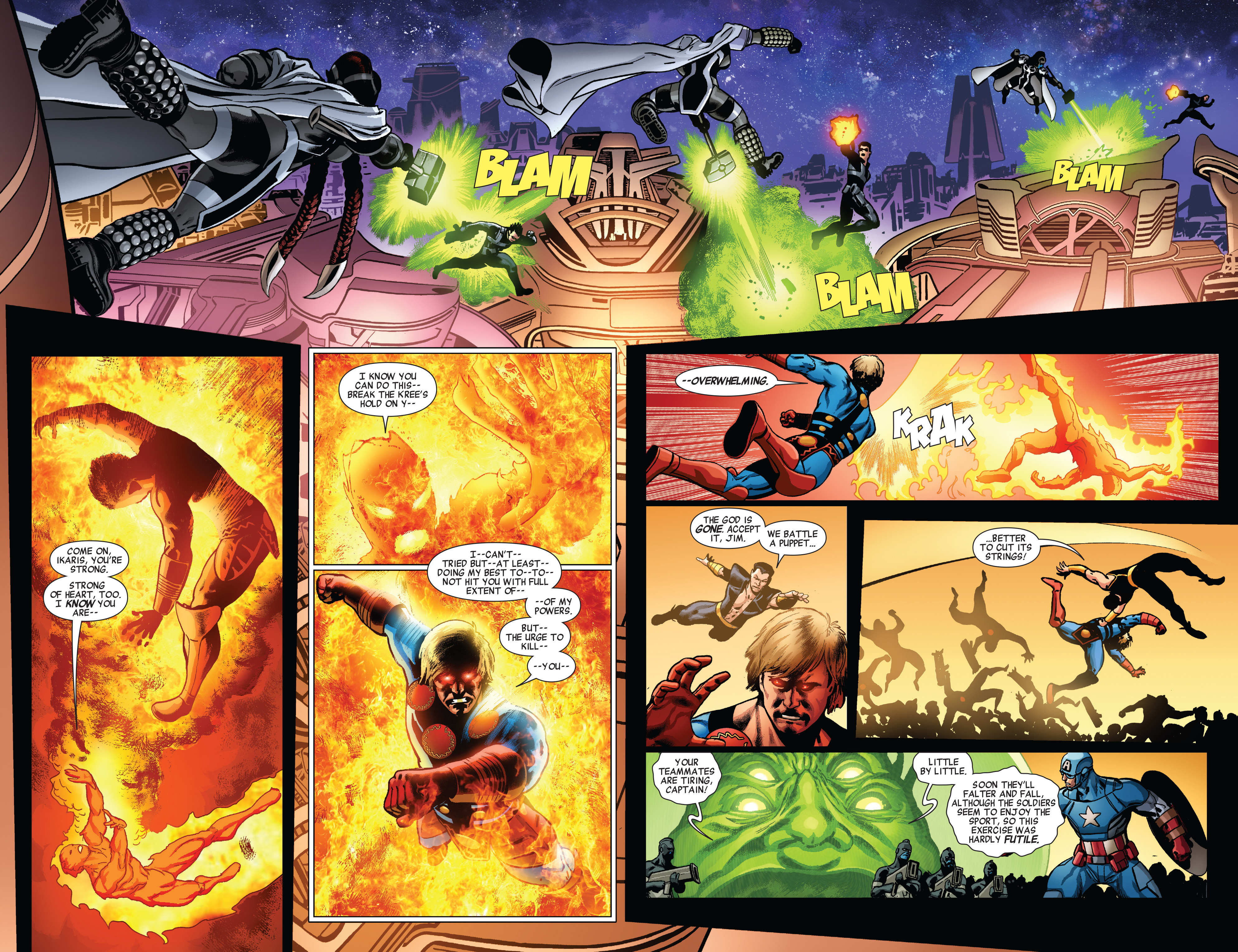 Read online All-New Invaders comic -  Issue #5 - 8