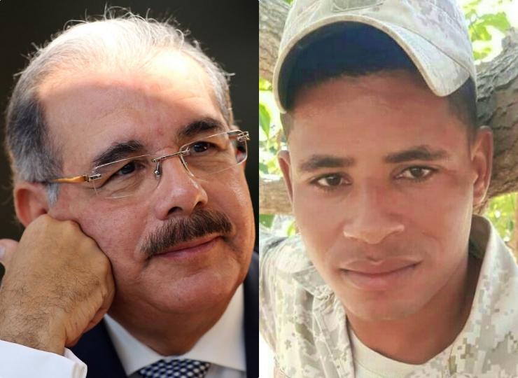 Danilo Medina asciende de manera póstuma a militar asesinado por haitiano en la frontera