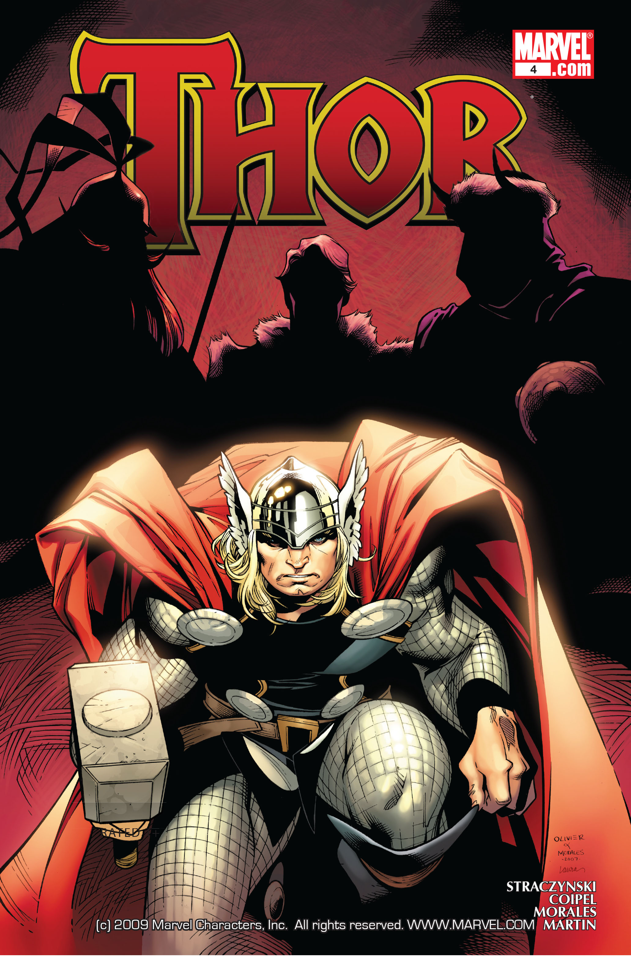 Thor (2007) Issue #4 #4 - English 1