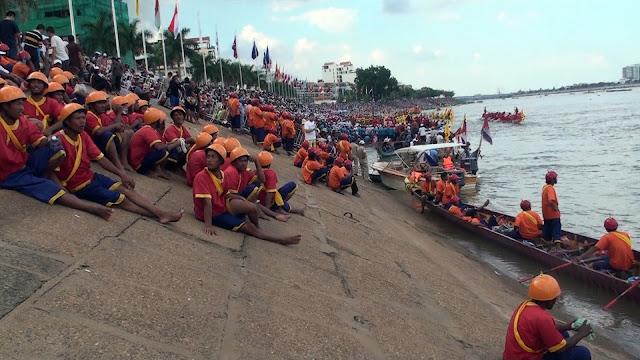 Fête des Eaux à Phnom Penh