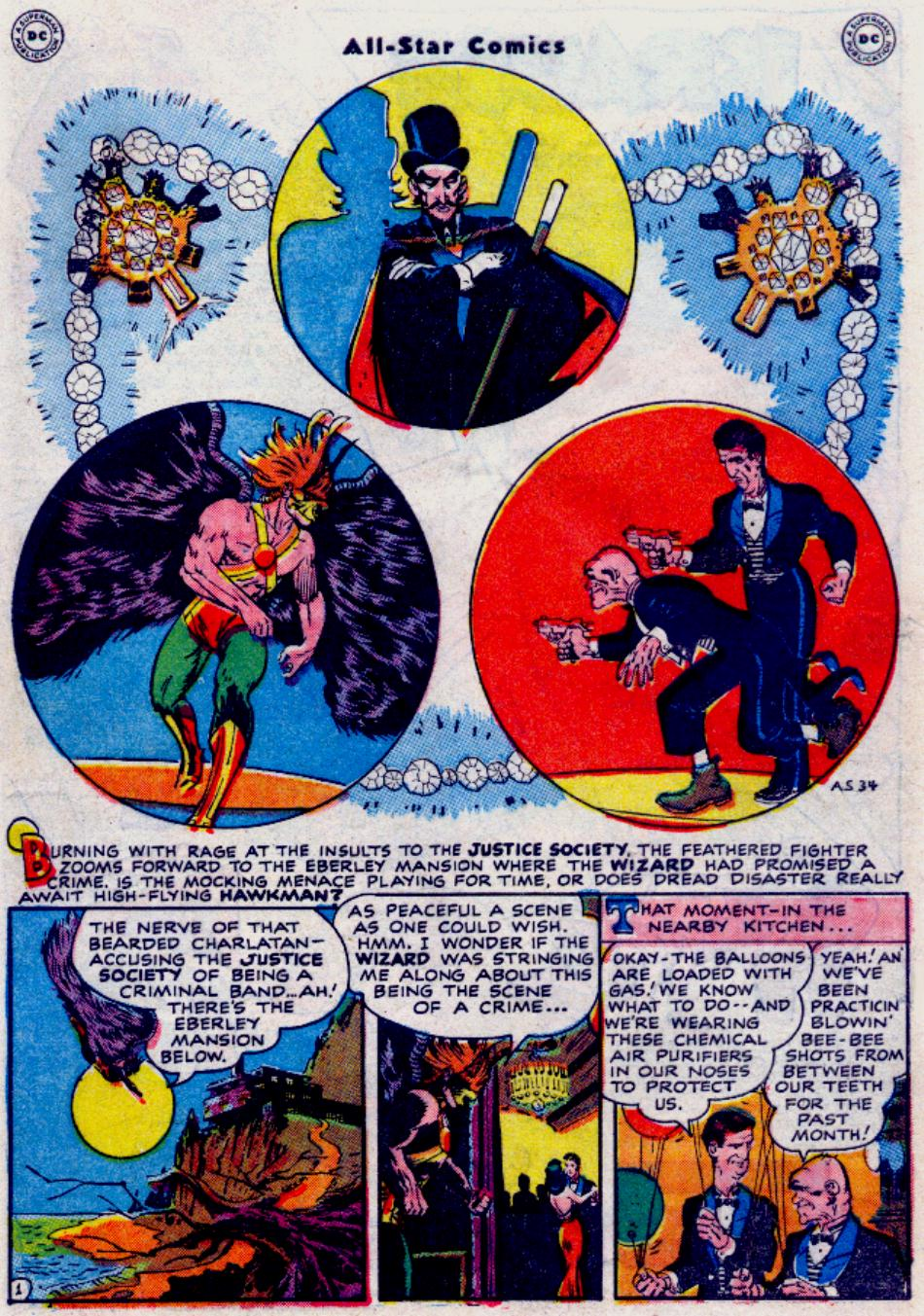 Read online All-Star Comics comic -  Issue #34 - 10