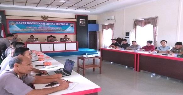 Rakor Lintas Sektoral Persiapan Ops Patuh Kapuas 2018