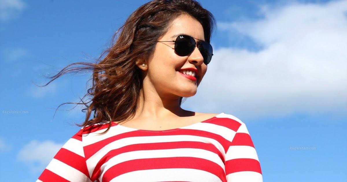 Raashi Khanna Navel In Bengal Tiger Movie