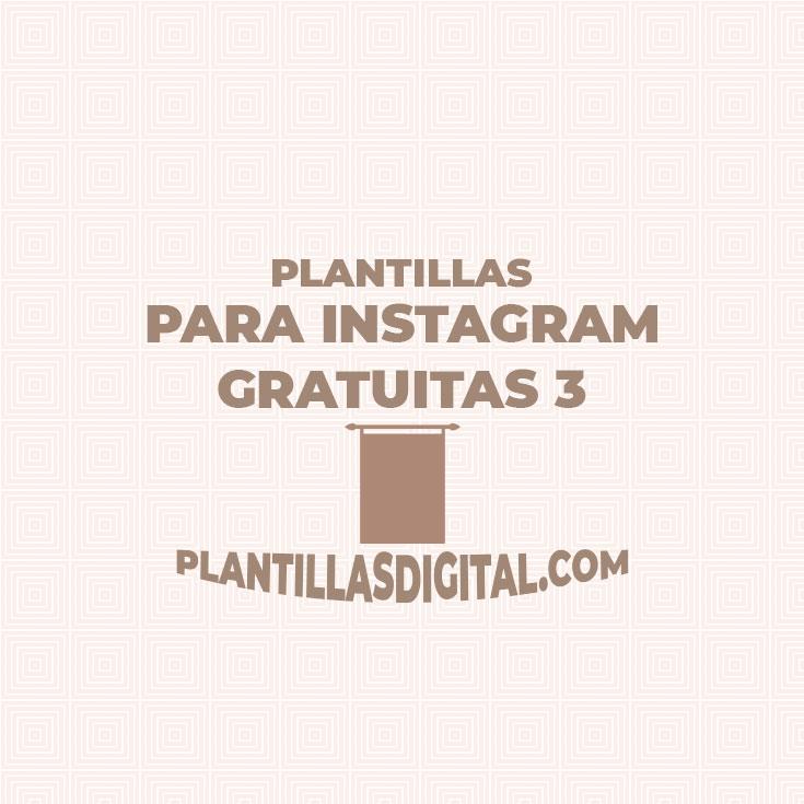 plantillas para instagram gratuitas 3