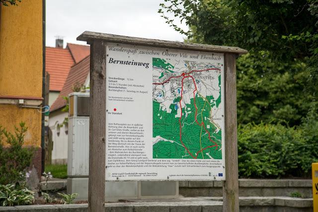 Bernsteinweg Schnaittenbach  Wandern im Amberg-Sulzbacher Land 03