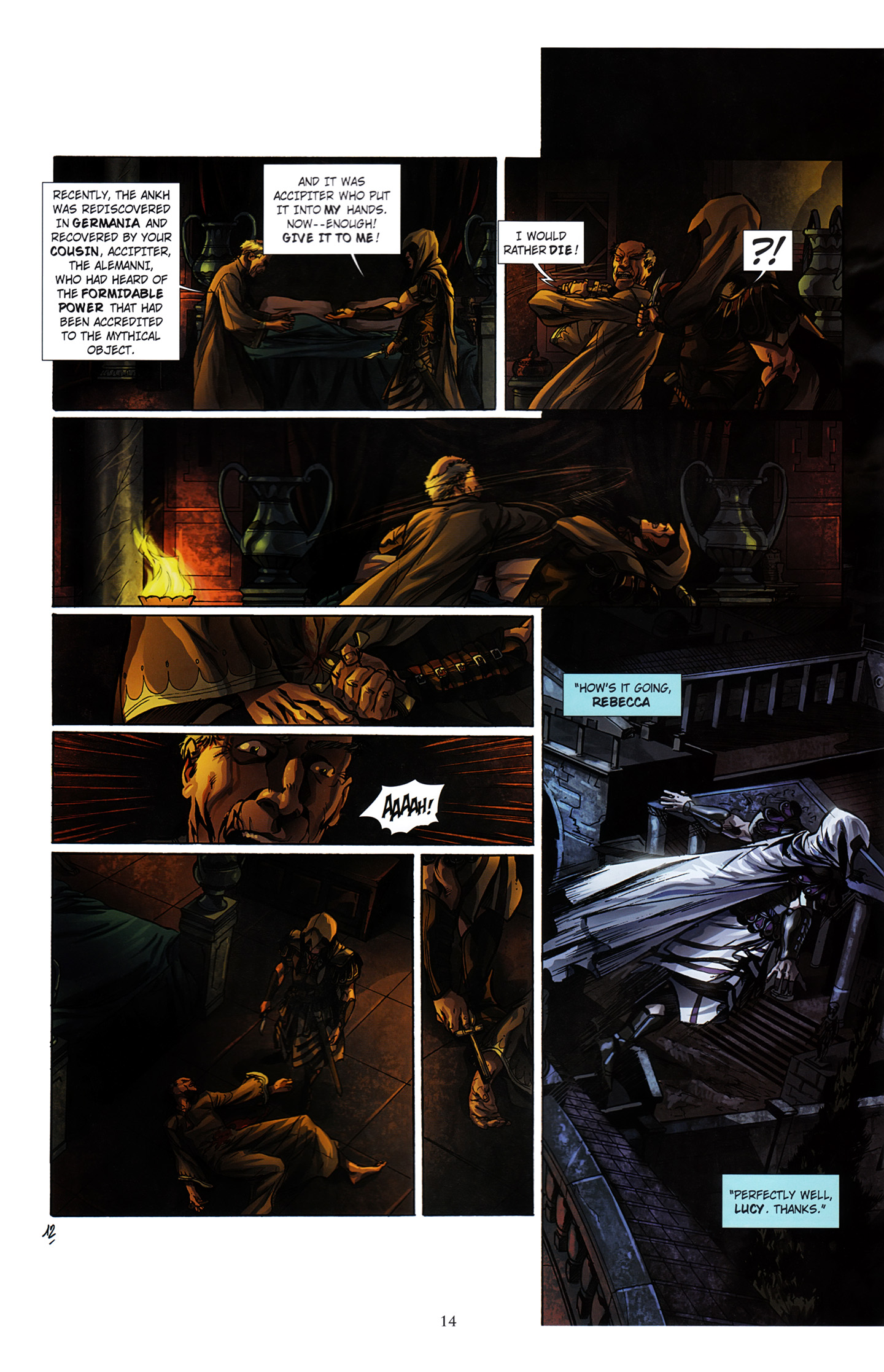 Read online Assassin's Creed (2012) comic -  Issue #3 - 18