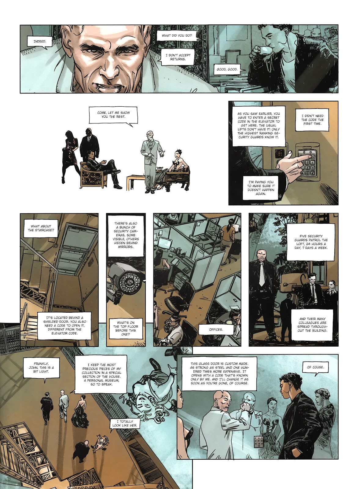 Read online Cutting Edge (2013) comic -  Issue #3 - 30