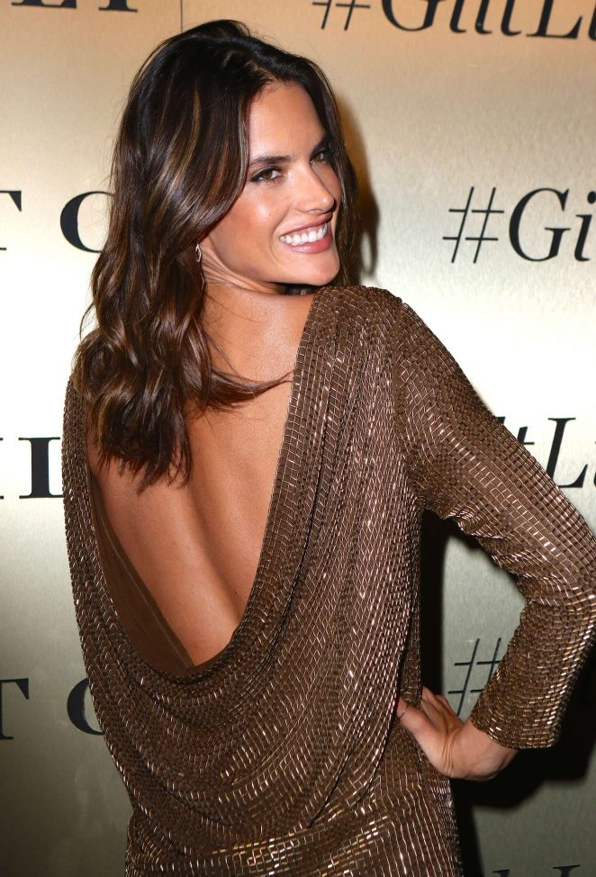 Alessandra Ambrosio – GiltLife Launch Party Event in NYC
