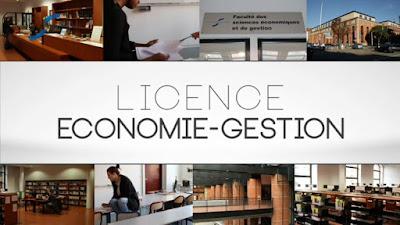 espace-entreprises, licence, économie & gestion