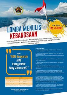 lomba menulis di indonesia