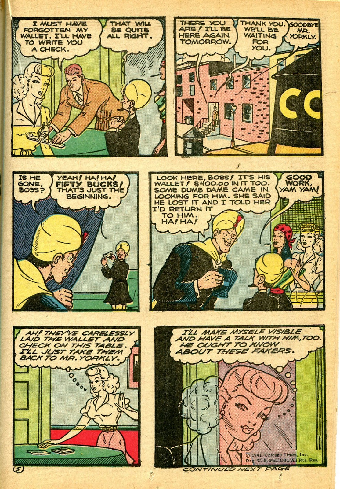 Read online Famous Funnies comic -  Issue #108 - 35