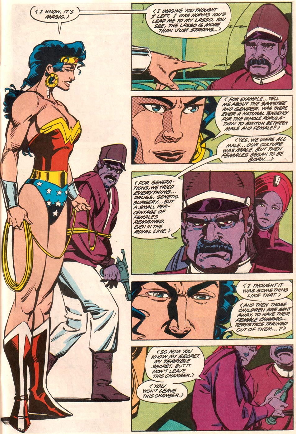 Read online Wonder Woman (1987) comic -  Issue #70 - 22