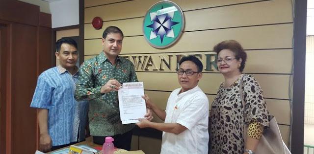 Setelah KPI, Sam Aliano Adukan Metro TV Ke Dewan Pers