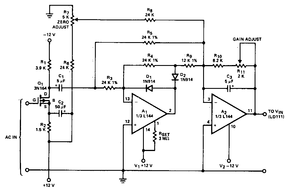 Ac To Dc Converter Circuit Diagram Electronic Circuit