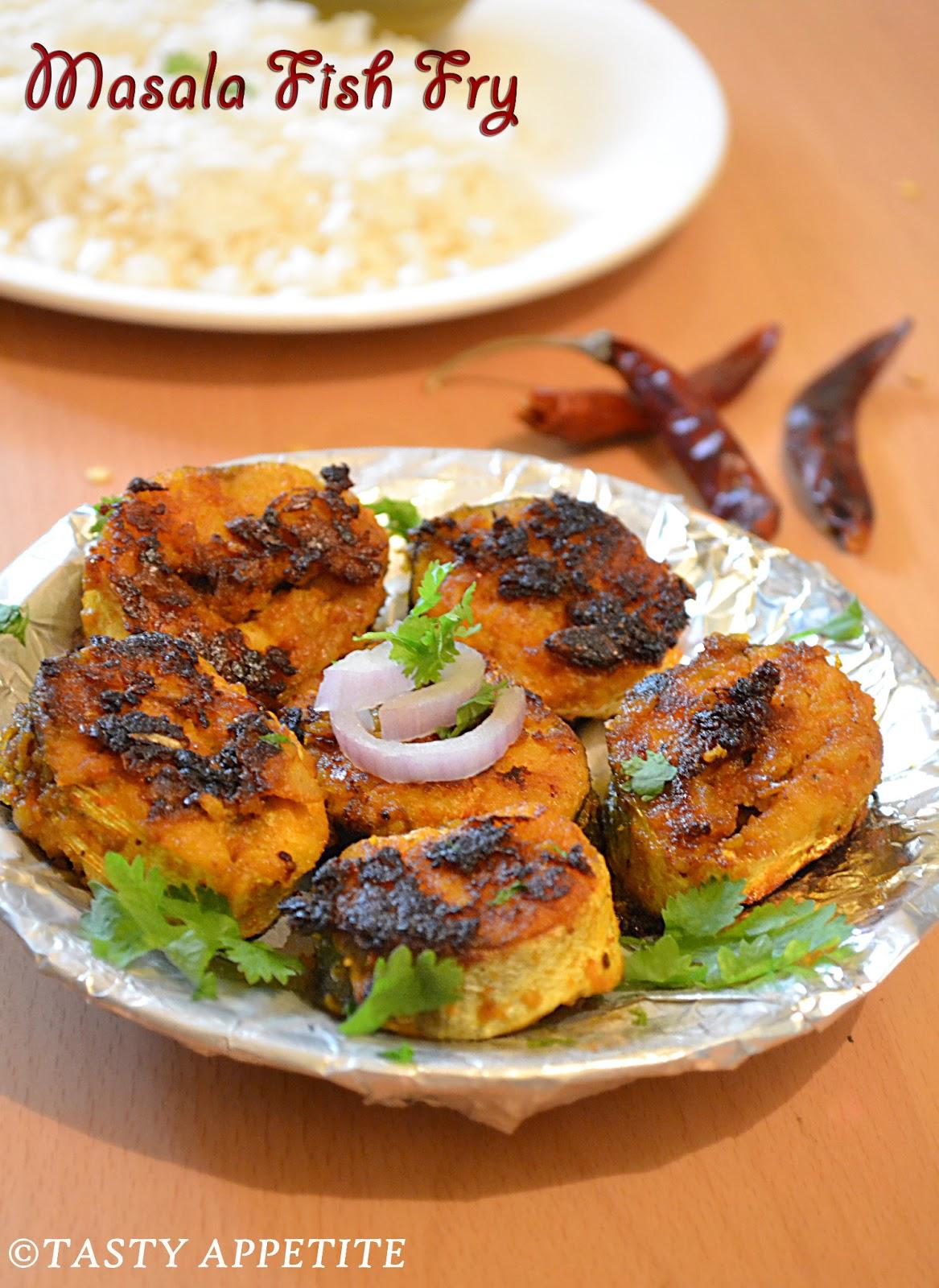 How To Make Masala Fish Fry / South Indian Fish Fry Recipe