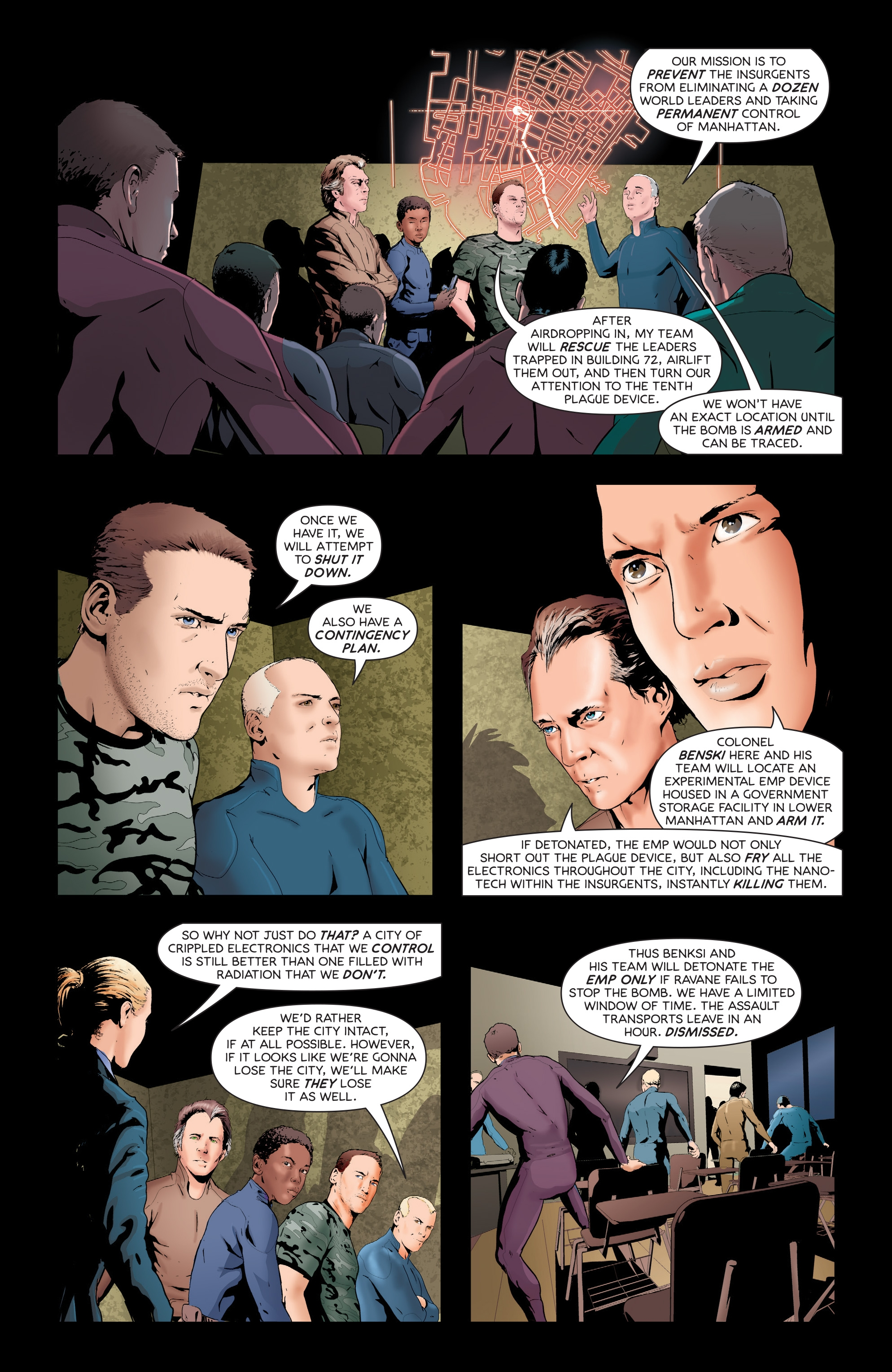 Read online Failsafe comic -  Issue #3 - 22