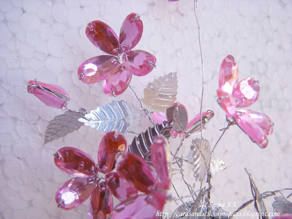 Cards Crafts Kids Projects How To Make Crystal Flowers