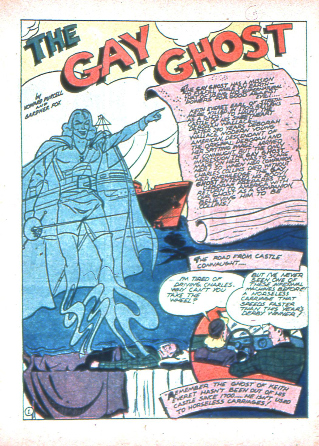 Read online Sensation (Mystery) Comics comic -  Issue #2 - 33