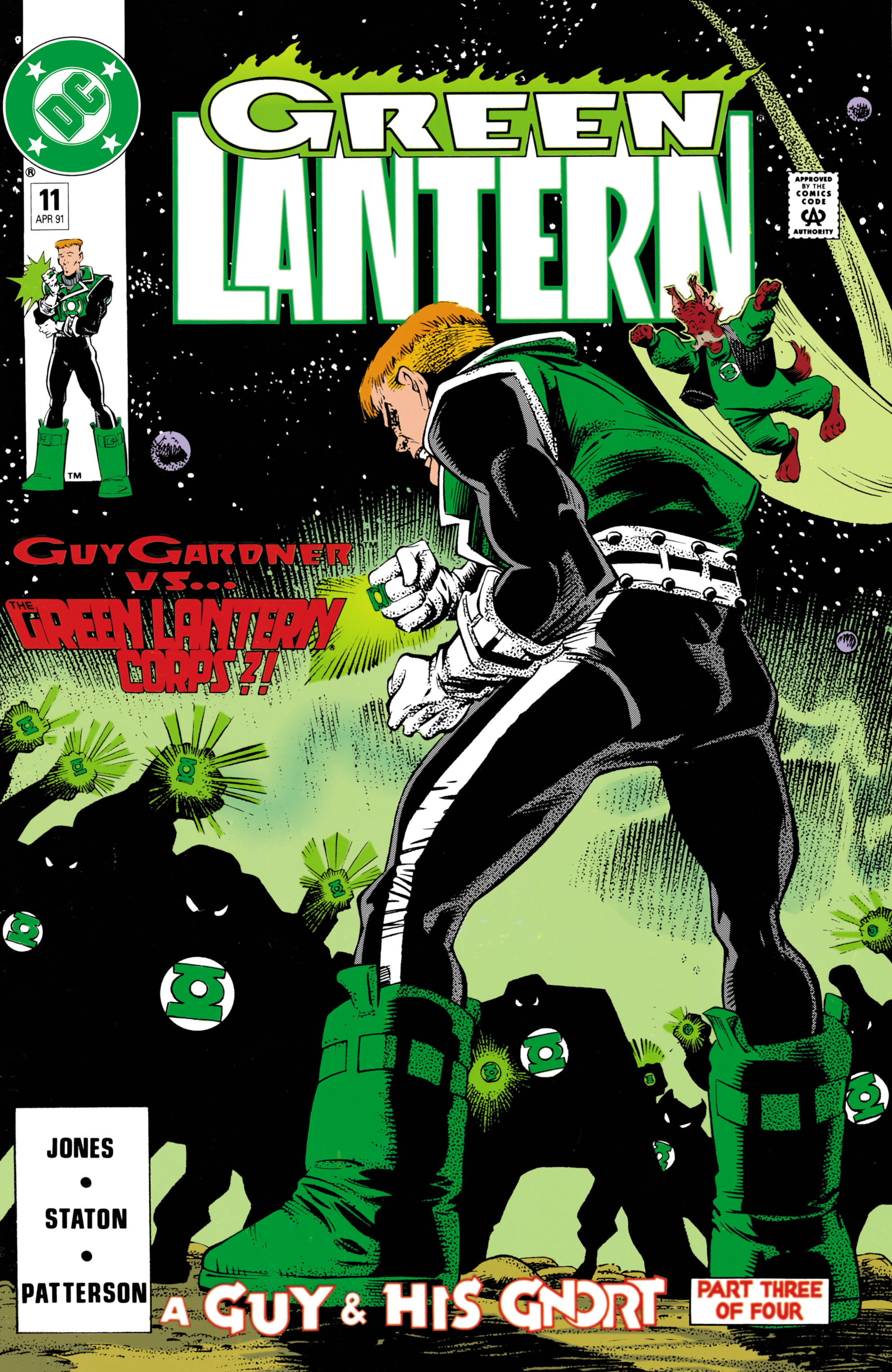 Green Lantern (1990) 11 Page 1