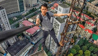 Tragedy as famous daredevil climber plunges to death from well-known skyscraper