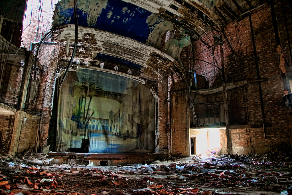 Deserted Places: The abandoned ruins of Gary, Indiana