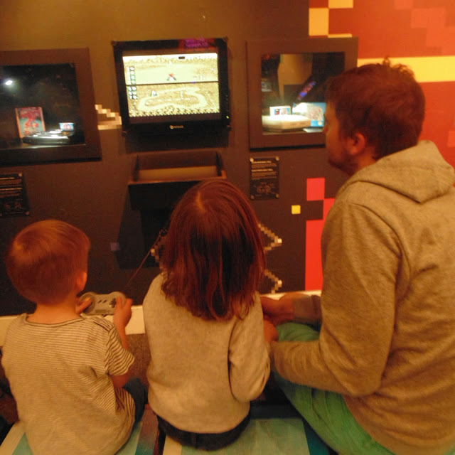 Games lounge at The National Science and Media Museum