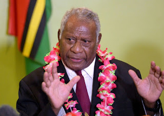 Vanuatu president Lonsdale dies of heart attack