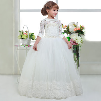 Vestidos de primera comunión para niña