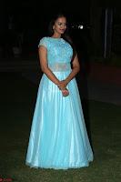 Pujita Ponnada in transparent sky blue dress at Darshakudu pre release ~  Exclusive Celebrities Galleries 135.JPG
