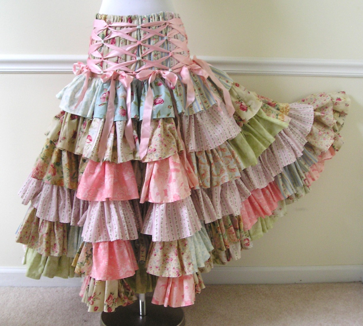 Free Girls Skirt Pattern Design Patterns