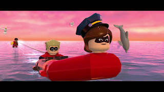 Lego The Incredibles Desktop Background