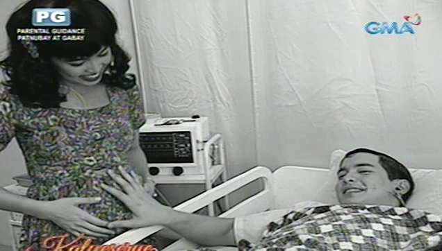 Young Nidora with Anselmo in the hospital