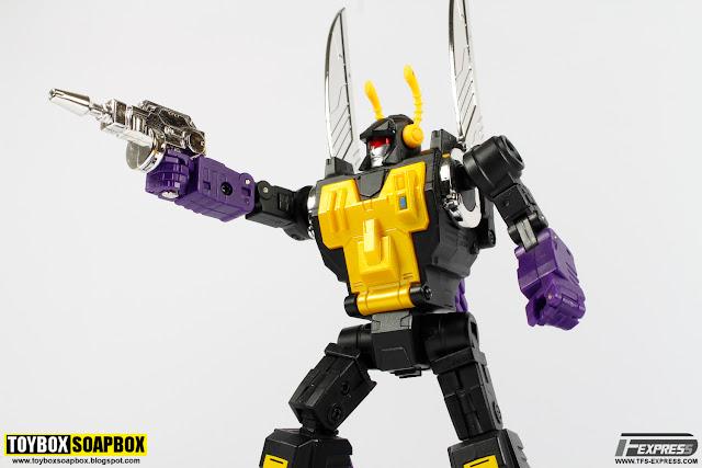 transformers kickback forager gun