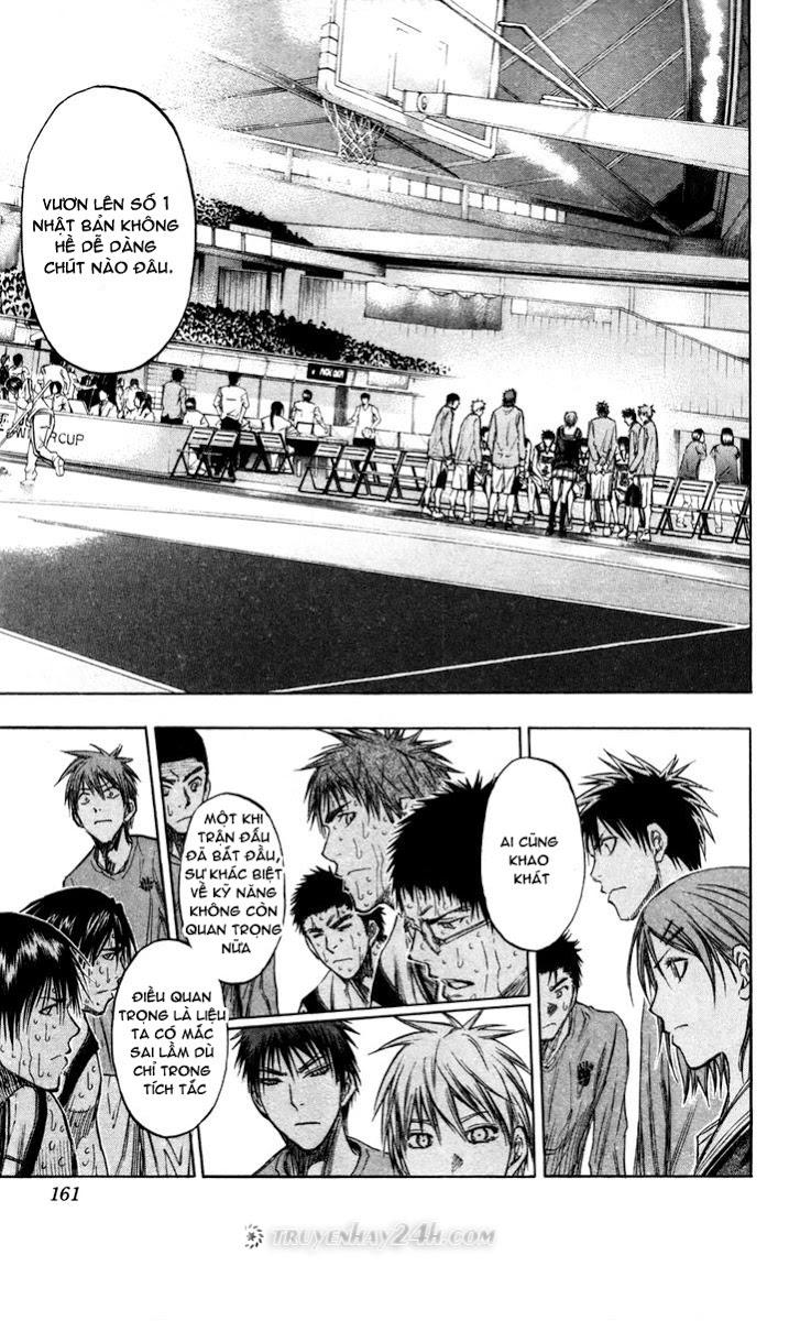Kuroko No Basket chap 143 trang 11