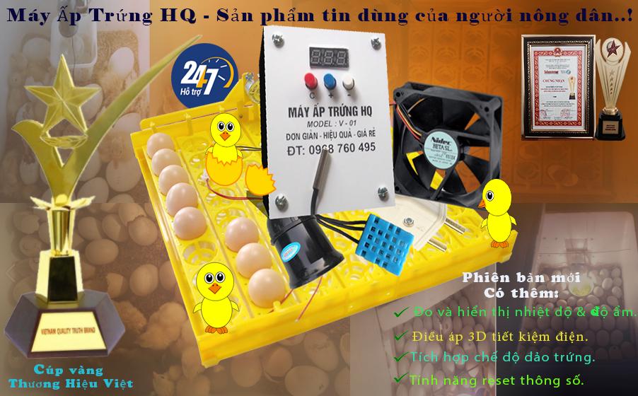 máy ấp trứng mini