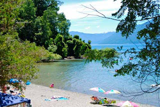 Playa Blanca Lake District Chile