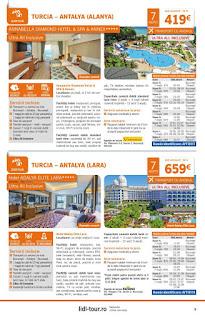 CATALOGUL LIDL TOUR REVELION 2019 Sejur la plaja Turcia 2019