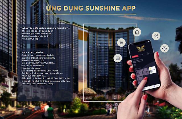"""Ứng dụng Sunshine App dành riêng cho cư dân """"mặt trời"""""""