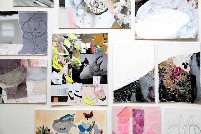 collage, Emily Harwood Blass, Kate Danson