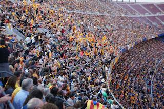 Concert per la Llibertat celebrat al Camp Nou de Barcelona el 29 de juny del 2013 per Teresa Grau Ros