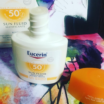 Eucerin Sun Fluid Sensitive Protect FPS 50+  Protector Solar